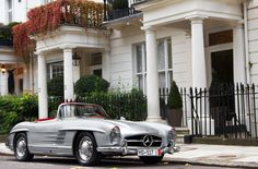 "Mercedes Benz #300SL Convertible -""Pure Style."" by ©Alex Penfold / #300SLRestorations #BruceAdams190SL"