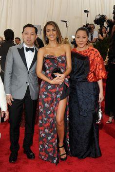 Eastern Promises - Humberto Leon, Jessica Alba, and Carol Lim in Kenzo-Wmag