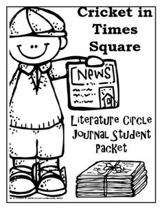 This is a ten part literature circle packet, made specifically to go with the novel Cricket in Times Square by George Selden, to be done in a span of 8-9 weeks. My goal in creating this product was to minimize the need for any other resource while conducting your novel study.The parts one and two contain weekly literature circle reading assignments, as well as weekly literature circle roles.