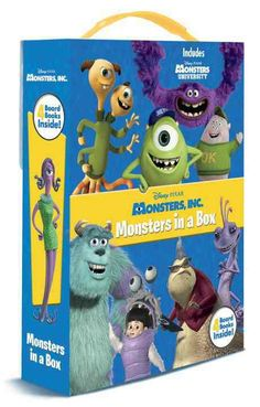 Just in time for the DVD and Blu-ray release of Disney/Pixar Monsters University, this sturdy boxed set of four monstrously-fun board books stars Mike, Sulley, and their college pals. Boys and girls ages 1�4 will love carrying the books with the...