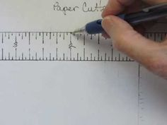 If you get flustered when papercrafting instructions call for 16ths of an inch measurements, this video will show you how to read them on your rulers and paper cutters. They will become as easy as any other fractions you use when making handmade cards, 3-D projects, and scrapbook pages.  www.stampingmadly.com