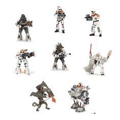 Nye sci-fi action rumfigurer i hård plast fra Papo... #PAPO #Figurer #Aliens #Rumvæsener #Rummænd #Scifi #Space #Monsters #Figurines