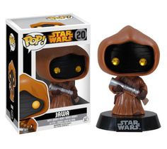 Funko-Pop-Star-Wars-Series-Jawa-20-Vinyl-Figure-Bubble-head-Toy-Doll-New-In-Box