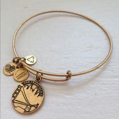 Alex and Ani San Francisco Bangle Never worn but does not come with original packaging. Beautiful bangle. Alex & Ani Jewelry Bracelets