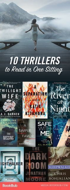 10 creepy thrillers to add to your reading list. These books are so good, you'll want to read them in one sitting.