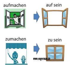 German Grammar, German Words, German Language Learning, Learn A New Language, English Language, Deutsch Language, Study German, Learning Languages Tips, Asl Sign Language