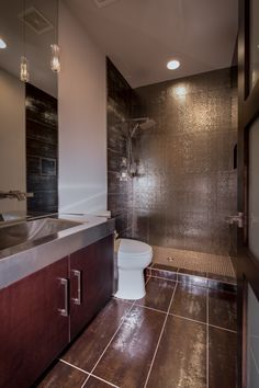 Bathroom Remodel By HighCraft Builders.
