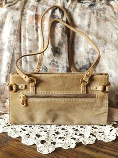 Vintage Purse Suede Leather  Wilson Leather by rustbelttreasures, $25.00