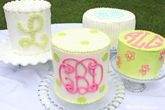 Creating+Monograms+for+Cakes!~+A+Video+Tutorial