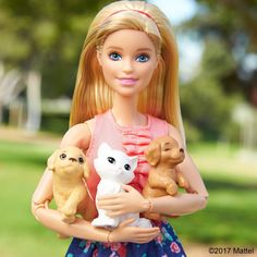 You can always count on your furry friends to be there when you need them. Happy Love Your Pet Day! Barbie, February 2017