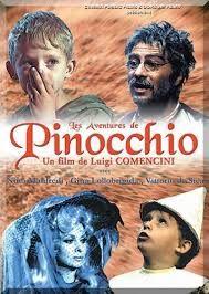 Le avventure di Pinocchio - Luigi Comencini, 1973. Sceneggiato televisivo in 5 puntate, trasmesso per la prima volta dalla RAI negli anni '70.