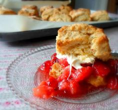 Mom's Strawberry Shortcakefrom The English Kitchen