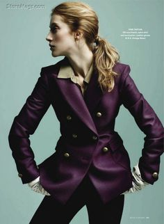 visual optimism; daily fashion fix.: the new look: alana zimmer by leda and st.jacques for elle canada september 2011