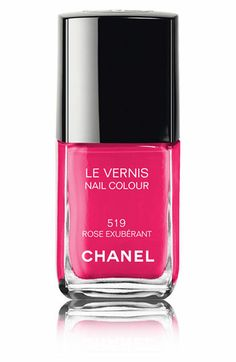 Chanel nail polish- Rose Exuberant