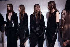 ann demeulemeester autunno/inverno 15 | read | i-D