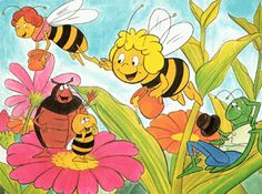 Maya the Bee. My childhood religion. Cartoon Disney, Cartoon Kids, Old Cartoons, Classic Cartoons, Good Old Times, The Good Old Days, Disney Infinity, Party Fiesta, Old Anime