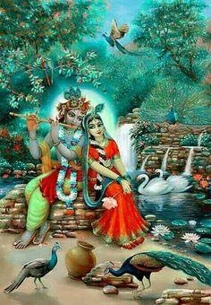 Rada Krisna. Om Namo Bagavaté Vasudevaya. OM.