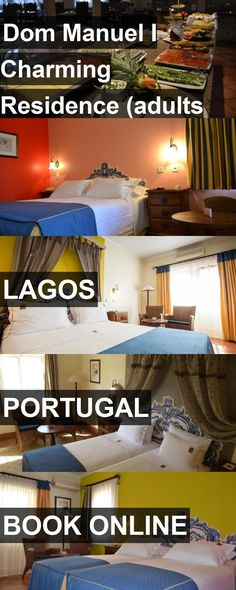 Hotel Dom Manuel I Charming Residence (adults only) in Lagos, Portugal. For more information, photos, reviews and best prices please follow the link. #Portugal #Lagos #travel #vacation #hotel