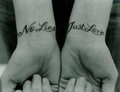 #no lies, just love.