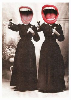 Collages. Lynn Skordal. Mes dents sont assez blanches ? #bouche #grandeouverte http://lynnskordal.paspartout.com/ Street Art, Photomontage, Montage Photo, History, Art Inspo, Art Plastique, Pop Art, Collage Art, Dada Collage
