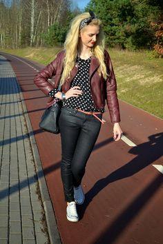 burgundowe love, zapraszamy na blog www.mmday.pl