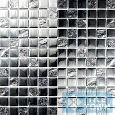 G30069 Silver Slate Mix Mosaics are new to tiletown.co.uk and are perfect for adding a touch of designer style to your home. The mirror effect mosaic can be cut down and used as a border in a bathroom between ceramic tiles or as a splash back in a kitchen. Create a stunning feature with this elegant mosaic which is made up of glass and metal. - See more at: http://www.tiletown.co.uk/default.aspx?pageid=912#sthash.7kD9riIt.dpuf