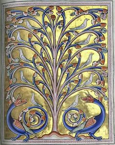 The Aberdeen Bestiary (12th cent. Latin) has been digitised in full and is now available to view online through 'Turning The Pages' technology.http://abdn.onlineculture.co.uk/ttp/