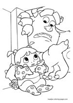 monsters inc coloring pages Related Posts monsters inc