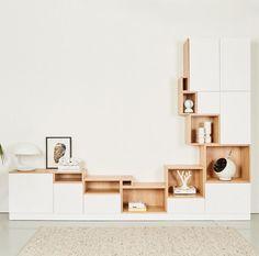 ideas for modular furniture interior Modular Walls, Modular Furniture, Home Furniture, Furniture Design, Office Furniture, French Furniture, Furniture Ideas, Interior Design Living Room, Living Room Designs