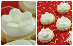 {Video} How to Make Simple Fondant or Gum Paste Shapes (& Wintry New Years Cookies) | Sweetopia