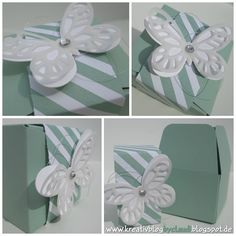 www.kreativblogbyclaudi.blogspot.de: Küsschenverpackung Gift Bag Punch Board, Envelope Punch Board, Scrapbook Cards, Scrapbooking, Stamping Up, Box, Cricut, Wraps, Paper Crafts