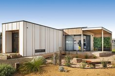 Ideas Container House Australia Architecture for Twelve of the best modular and prefab creations - Renew Architecture Durable, Sustainable Architecture, Architecture Design, Architecture Courtyard, Japanese Architecture, Residential Architecture, Landscape Architecture, Prefab Modular Homes, Prefabricated Houses