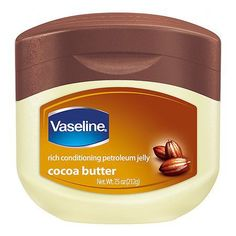 Vaseline Jelly Cocoa Butter Love it for a moisturizer before manicures. Use it on my lips and even legs when they get super dry. Vaseline Cocoa Butter, Benefits Of Vaseline, Vaseline Petroleum Jelly, Vaseline Lip, Cracked Skin, Perfume, Dull Skin, Swagg, Shea Butter