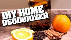 DIY : Natural Home Deodorizers & Air Fresheners.. I Had a funky smell in our house this morning so I tried this with apples, oranges, lemons & cloves & mint.  Within an hour the funky smell was gone and my house smelled wonderful..