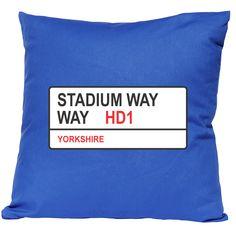 Stadium Way (Huddersfield Town) City Of Birmingham, Huddersfield Town, City Road, Sign, Signs, Board