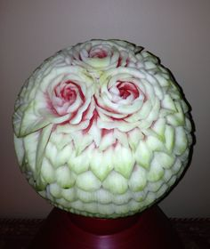 Watermelon Fruit Carving