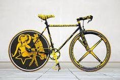 Resultado de imagen para fixie bike art