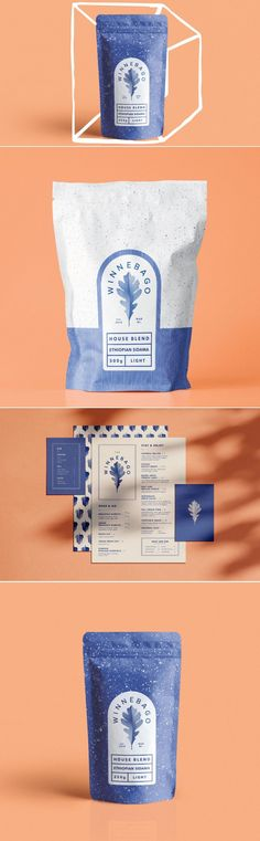 The Winnebago Cafe Packages Up Their Campfire Coffee - Delivery Food - Ideas of Delivery Food - The Winnebago Cafe Packages Up Their Campfire Coffee Brand Identity Design, Corporate Design, Branding Design, Corporate Branding, Logo Branding, Cool Packaging, Brand Packaging, Bakery Packaging, Product Packaging