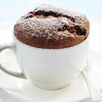 Two Minute Brownie: Its egg less, its tasty and its made oh-so-quickly. Two minutes is all you need to enjoy this mug #brownie. Go ahead and try it.
