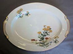 Vtg 40s 50s Noritake Sandra Oval Platter Discontinued #MadeinJapan
