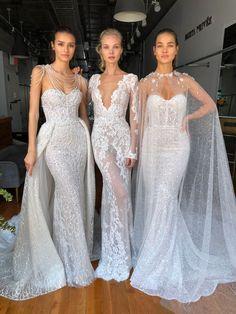 #BERTA beauties <3 Amazing Wedding Dress, Beautiful Wedding Gowns, Classic Wedding Dress, Wedding Dress Styles, Sexy Dresses, Nice Dresses, Boho Wedding Dress With Sleeves, Elie Saab Gowns, Mothers Dresses