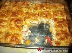 Είναι μια πολύ γευστική κοτόπιτα η οποία έχει αποδειχθεί ένα απολαυστικότατο σνακ και όχι μόνο.....!!!