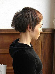 soft short haircut