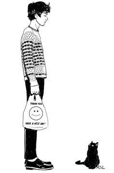 Portfolio on Illustration Served: Amanda Lanzone Character Illustration, Illustration Art, Character Sketches, Art Illustrations, Character Art, Graphic, Cat Art, Art Inspo, Art Reference