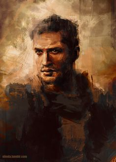 Great piece of fan art of Tom Hardy as Max Rockatansky in 'Mad Max: Fury Road. Mad Max Fury Road, Tom Hardy Variations, Instagram Photoshop, Painted Toms, About Time Movie, Buy Prints, Illustration Art, Harry Potter, Fan Art