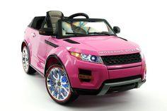 MODERNO ROVER 12V KIDS RIDE-ON CAR WITH R/C PARENTAL REMOTE | PINK