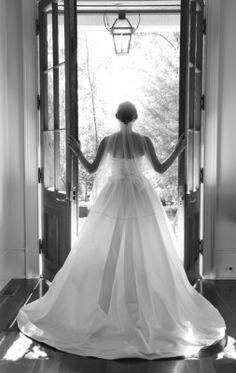 This bridal portrait from Elizabeth Looney Photography is so dramatic! We just love it! Click the image link to give her a call today!