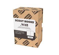 Scout Books 12 Notebook Box Set