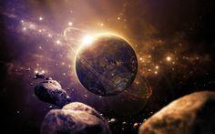 Descargar fondos de pantalla los planetas, los asteroides, los galaxy, la exploración del espacio, estrellas, nebulosas