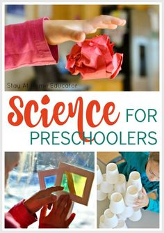 Not sure how to teach your preschooler science? Try some of these science activities for preschoolers. Simple kids activities, too. #steam #science #kidsactivities #preschool